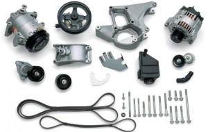 Finish off your engine with the correct accessory drive kit; it includes an air conditioning compressor, alternator, brackets, pulleys, drive belt and all the necessary mounting hardware???an inclusive kit that saves time and money!