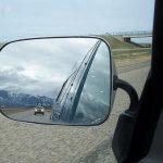 Specchietto per auto originale